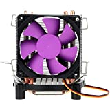 Alcoa Prime Oily Bearing High Speed Ultra Silent Cooling Fan CPU Cooler Radiator 2000RPM For Intel LGA 775/115X AMD AM2/754/939/940 Computer