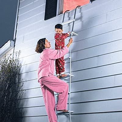 Dial Safety Ladder 2-Story Fire Escape Fire Ladder