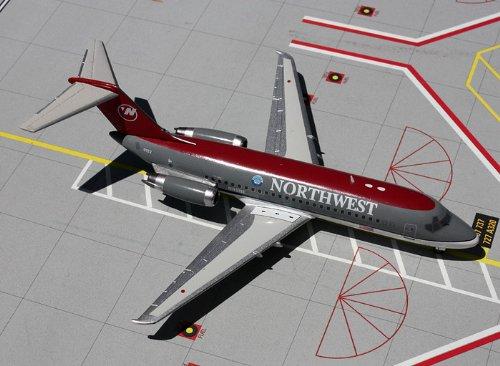 1: 200 ジェミニジェット Northwest 航空 DC-9-14 Bowling Shoe Colors (並行輸入)