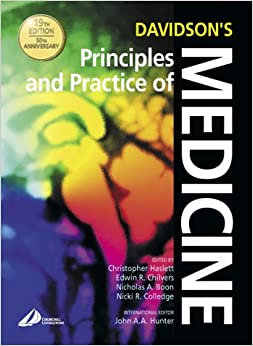 Davidson internal medicine book