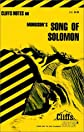 CliffsNotes on Morrison's Song of Solomon