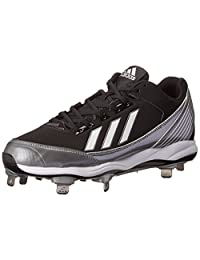 adidas Performance Men's PowerAlley Metal Low Baseball Cleat