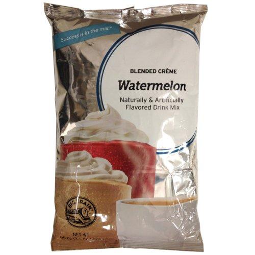 Big Train Watermelon Blended Creme Frappe Mix - 3.5 Lb. Bag