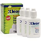 Xlear Nasal Spray by Xlear - 0.75 fl oz (3 Pack) ~ Xlear