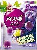 グリコ アイスの実 ぶどう 梨 キウイ 合計24入