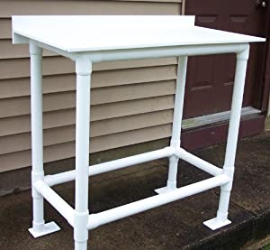 Bare bones fish cleaning table workbenches for Homemade fish cleaning table