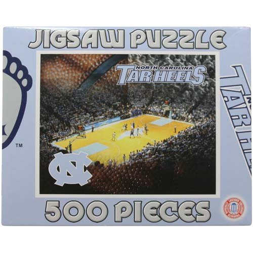NCAA North Carolina Tar Heels (UNC) 500-Piece Basketball Puzzle at Amazon.com