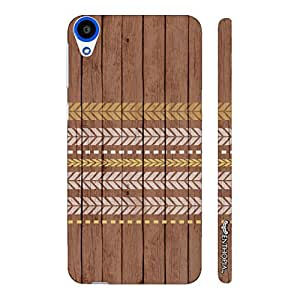 HTC Desire 820 Running Arrows designer mobile hard shell case by Enthopia