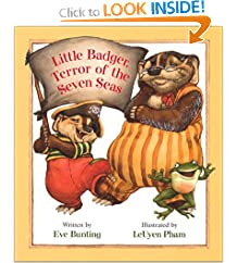 Little Badger, Terror of the Seven Seas (Badger Books)