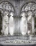 51XJKowTwIL. SL160  Gothic Scenery 42 Wall Decal   47W x 60H Removable Graphic