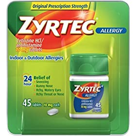 Zyrtec Allergy Relief (10 mg)