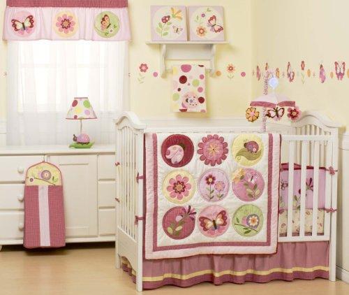 Kidsline Sorbet 6 Piece Crib Bedding Set