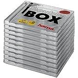 Hama 10er-Pack CD-ROM-Doubl-Boxen; transparent