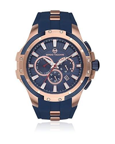 Sergio Tacchini Reloj de cuarzo Man Azul Marino 58 mm