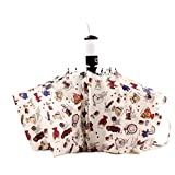 KROGL UB50079C1 Bear Automatically Open And Close Women Umbrellas