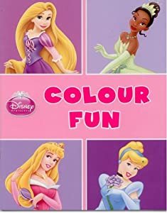 Disney Princess: Colour Fun Colouring Book: Amazon.co.uk ...