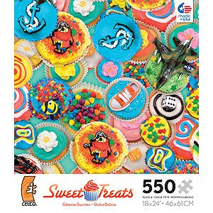 Ceaco Sweet Treats Blue Jigsaw Puzzle