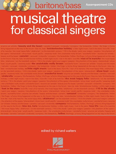 Musical Theatre for Classical Singers: Baritone/Bass, Accompaniment CDs