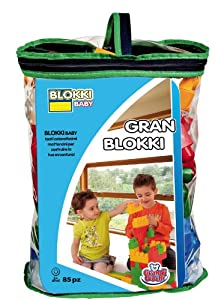 Grandi Giochi GG81050 - Bolsa con bloques de construcción