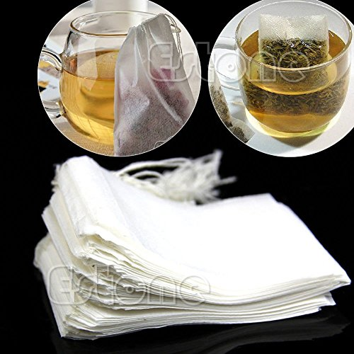 Empty Tea Bags With String