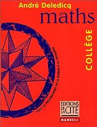 Mathématiques, collège