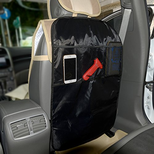 Autofay kick mats back seat protector w storage organizer How to clean scuff marks off car interior
