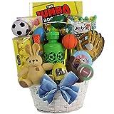 GreatArrivals Gift Baskets Egg-Streme Sports Easter Gift Basket for Boys, 3 Pound