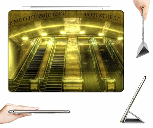 irocket-ipad-air-case-transparent-back-cover-escalators-in-nyc-hdr-auto-wake-sleep-function