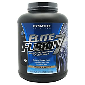 Dymatize Nutrition Elite Fusion, Cookies and Cream, 5.15-Pound