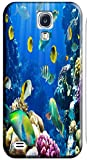 Top Quality Phone Accessories Under Sea World Beautiful Colorful Fishs Clean Water Special Design Cell Phone Cases Covers For Samsung Galaxy S4 i9500