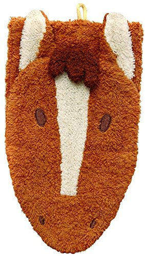 Washcloth Hand Puppet Horse By Furnis Small