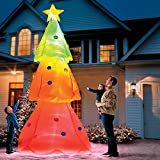 Giant Inflatable Color Changing Christmas Tree by Improvements