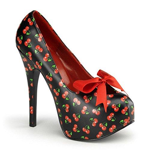 Pinup Couture Teeze-12-6 - sexy retro scarpe decollete con i tacchi alti e plateau 36-42, US-Damen:EU-37 / US-7 / UK-4