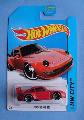 2014 Hot Wheels Hw City Porsche 993 GT2 - Red
