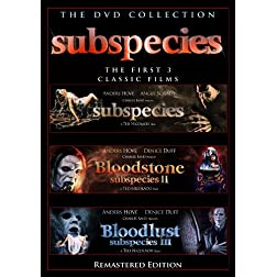 Subspecies 3 Disc DVD Box Set
