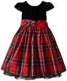 Youngland Girls 2-6X Plaid Occasion Dress