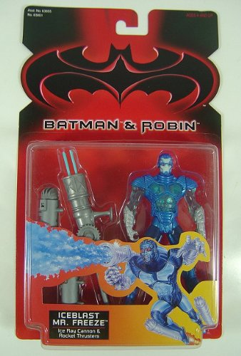 BATMAN & ROBIN:ICEBLAST MR. FREEZE ACTION FIGURE