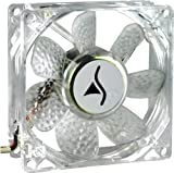 Sharkoon Silent Eagle 2000 LED Edition 80mm System Fan -Blue