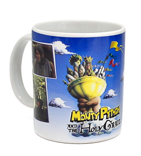 Monty Python Holy Grail Singing Mug