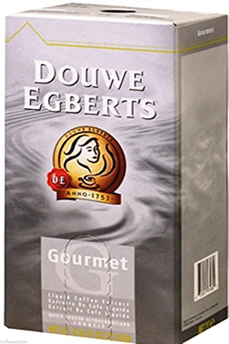 Douwe Egberts Liquid Coffee Concentrate Gourmet Blend 1 Box 2- Ltr Each (Douwe Egberts Liquid Coffee compare prices)