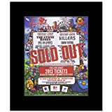 V FESTIVAL - 2012 - Stone Roses Killers - Sold Out Matted Mini Poster - 31.8x28cm