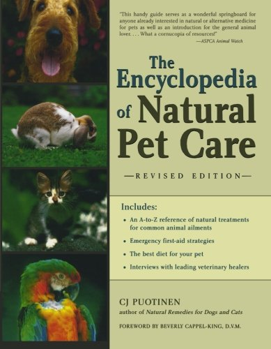 The Encyclopedia Of Natural Pet Care front-724644