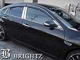BRIGHTZ アテンザスポーツ ( セダン ) GH 超鏡面ステンレスメッキピラーパネル バイザー有用 12PC GH5AS GH5FS GHEFS GH5AS アテンザ スポーツ セダン 10967