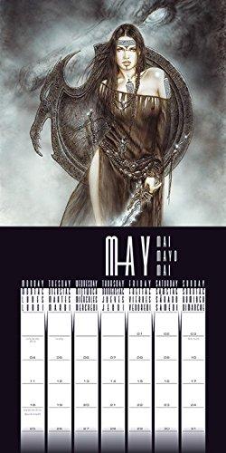 Luis Royo 2015 Calendar