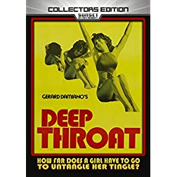 Deep Throat: Collector's Edition [Blu-ray]