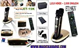 Hindi Magic Sing ET19KV 1810 HINDI SONGS + 2000 English Song Microphone Mic EnterTech