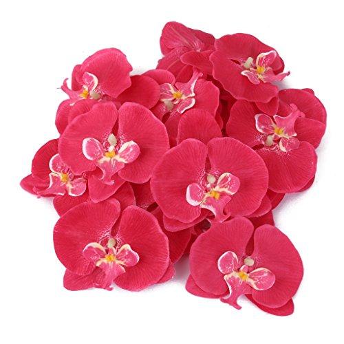 20x-artificielle-orchidee-papillon-corsage-poignet-fleur-de-cheveux-rose-decoration-de-mariage