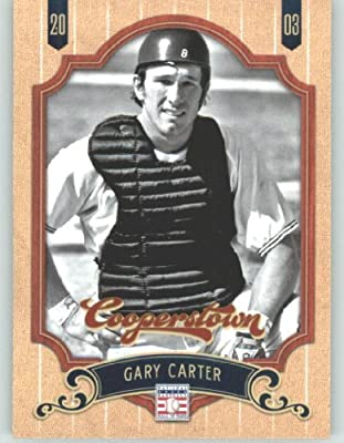 2012 Panini Cooperstown Baseball Card #32 Gary Carter - New York Mets (Legend / Hall of Fame / HOF) MLB Trading Cards