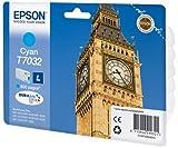 Epson C13T70324010 - T7032 - L size - cyan - original - blister - ink cartridge - for WorkForce Pro WP-4015, WP-4025, WP-4095, WP-4515, WP-4525, WP-4535, WP-4545, WP-4595