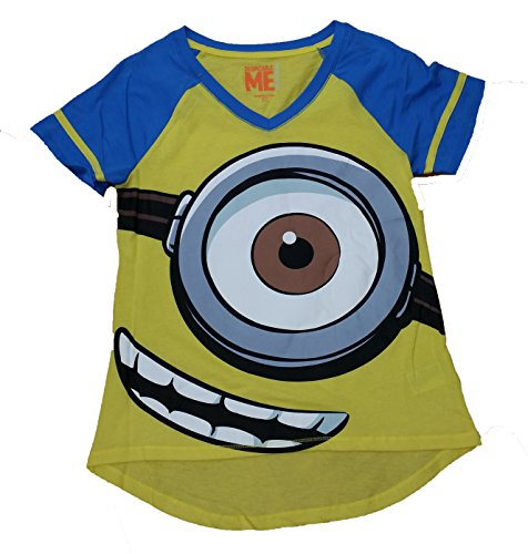 Despicable Me Minions Yellow Night Sleep Tee Shirt